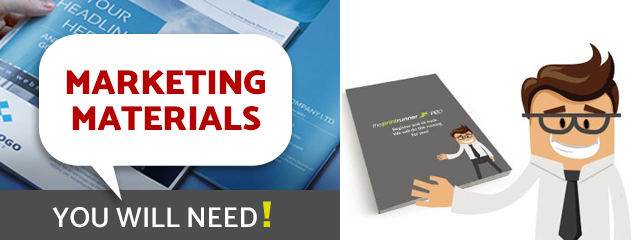 Marketing materials you need to succeed at exhibitions