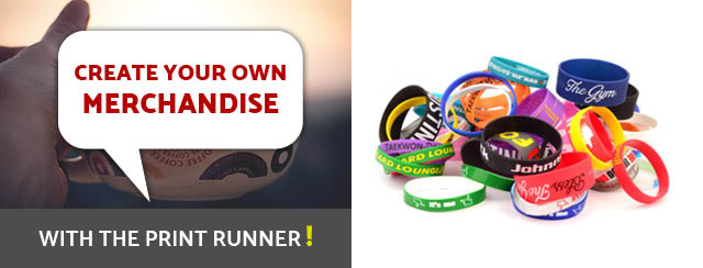 Create your own merchandise with The Print Runner