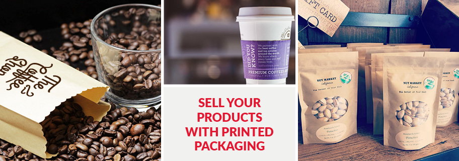 Sell your products with printed packaging