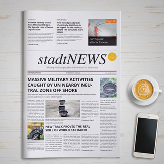 best prices for 16 Page Tabloid Newspaper