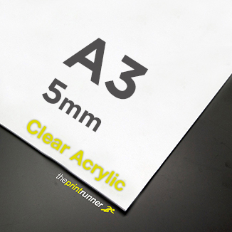 best prices for A3 Clear Acrylic Sign