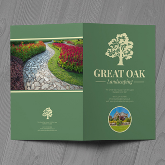 best prices for 4pp Folded leaflets - Economy Silk