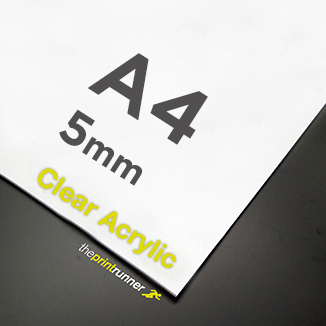 best prices for A4 Clear Acrylic Sign