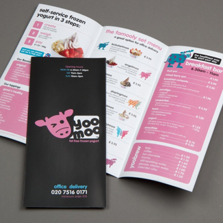 best prices for 6pp Folded leaflets - Economy Silk